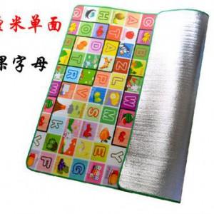 Коврик детский Односторонний Буквы Фрукты 0,5 см