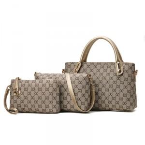 Набор сумок из 3 предметов арт А434 двойной круг