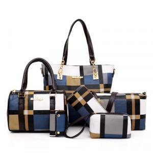 Набор сумок из 6 предметов, арт А43, цвет:синий