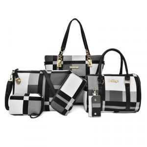 Набор сумок из 6 предметов, арт А43, цвет:чёрный