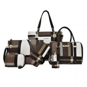Набор сумок из 6 предметов, арт А43, цвет:коричневый