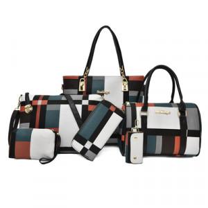 Набор сумок из 6 предметов, арт А43, цвет:зелёный