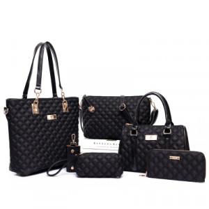 Набор сумок из 6 предметов, арт А44, цвет:чёрный