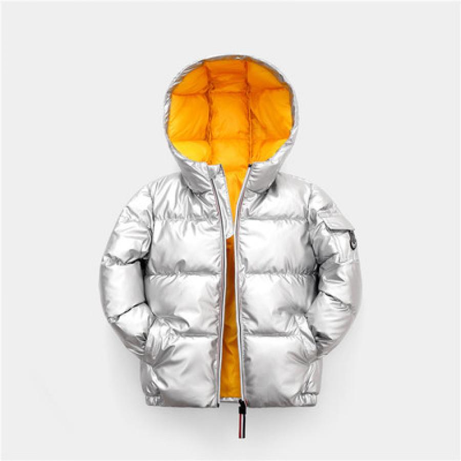 Куртка детская арт КД17, цвет: серебро