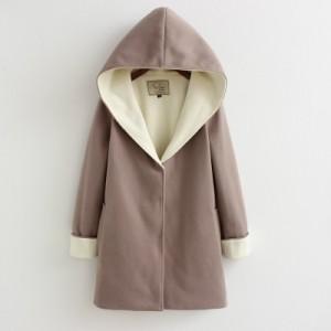 Пальто женское арт КЖ50 серо-коричневый