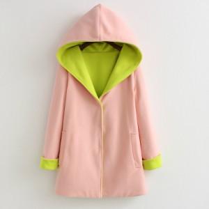 Пальто женское арт КЖ50 розовый