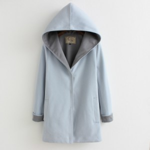 Пальто женское арт КЖ50 голубой