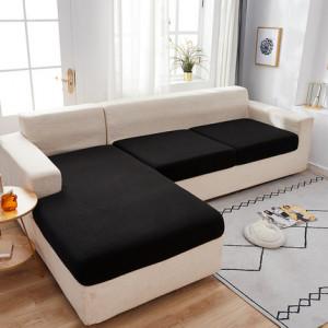 Чехол для дивана арт ДД1, цвет:чёрный