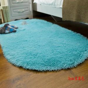 Меховые ковры ОВАЛЬНЫЕ толщина 3 см