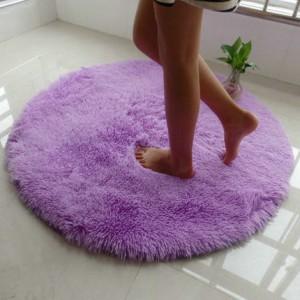 Меховые ковры КРУГЛЫЕ толщина 3 см