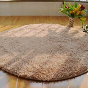 Меховые ковры КРУГЛЫЕ толщина 4 см