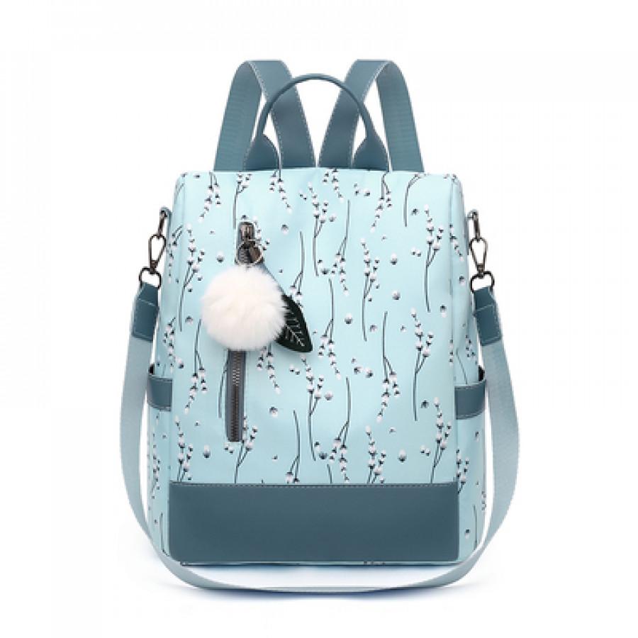 Рюкзак-сумка арт Р7, цвет: голубой