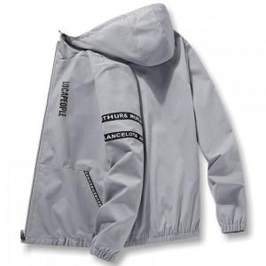 Ветровка мужская арт МЖ2, цвет: серый HQ003