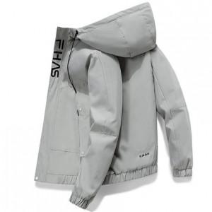 Ветровка мужская арт МЖ2, цвет: серый HQ2199