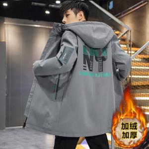 Куртка мужская арт МЖ3, цвет:серо-зелёный BF22 утеплённая
