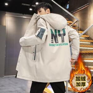 Куртка мужская арт МЖ3, цвет:бежевый BF22 утеплённая