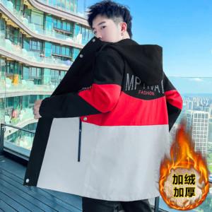 Куртка мужская арт МЖ3, цвет:красный М28 утеплённая