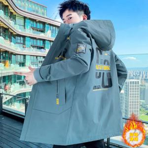 Куртка мужская арт МЖ3, цвет:М27 серо-зеленый утеплённая