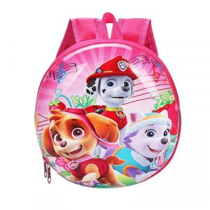 Рюкзак для малышей, арт РМ2, цвет:розовые щенки