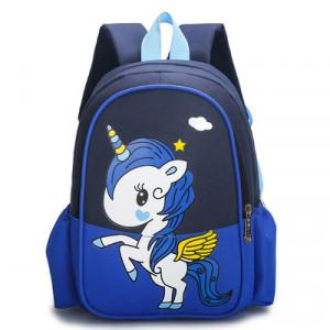 Рюкзак детский, арт РМ3, цвет: единорог тёмно-синий