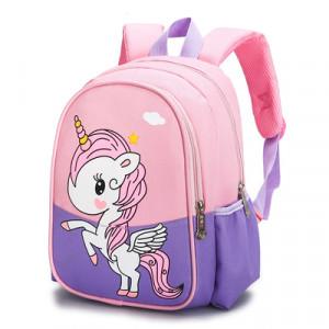 Рюкзак детский, арт РМ3, цвет:единорог фиолетовый