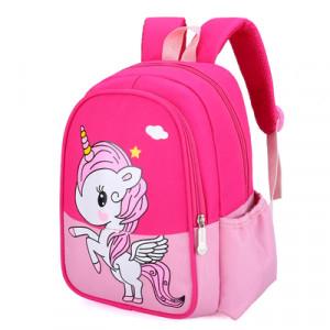 Рюкзак детский, арт РМ3, цвет: единорог роза
