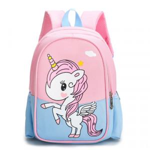 Рюкзак детский, арт РМ3, цвет: единорог голубой