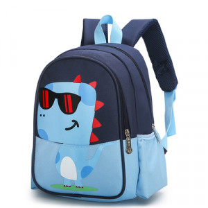 Рюкзак детский, арт РМ3, цвет:дракон синий