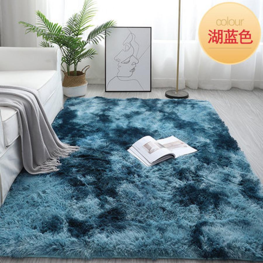 Ковёр арт КВ3, цвет: синее озеро