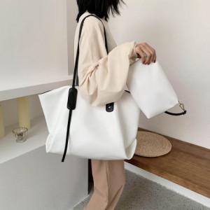 Комплект сумок из 2 предметов, арт А40, цвет:белый