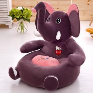 Детское кресло арт.ДМК01,цвет:Сиреневый слон