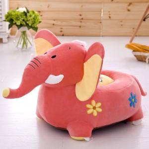 Детское кресло арт.ДМК01,цвет:Розовый слон