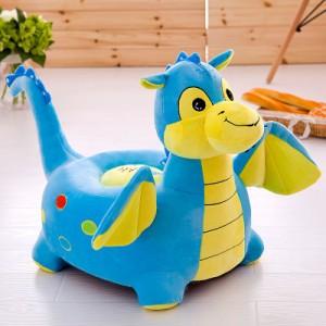 Детское кресло арт.ДМК01,цвет:Синий динозаврик