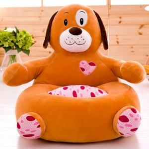 Детское кресло арт.ДМК01,цвет:Оранжевая Собака