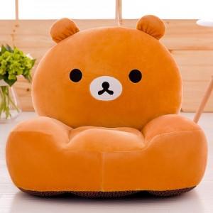 Детское кресло арт.ДМК01,цвет:Оранжевый медведь