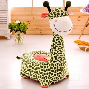 Детское кресло арт.ДМК01,цвет:Зеленый жираф