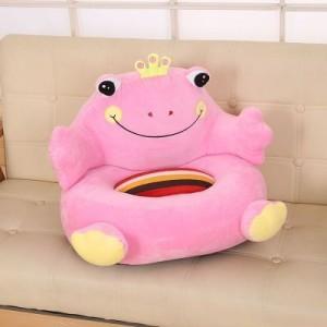 Детское кресло арт.ДМК01,цвет:Розовый принц Лягушка