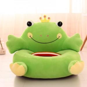 Детское кресло арт.ДМК01,цвет:Зеленый принц Лягушка