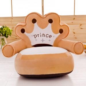 Детское кресло арт.ДМК01,цвет:Бежевая корона
