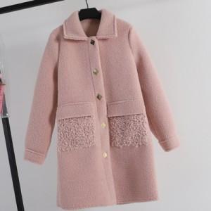 Жакет меховой арт.КЖ174,цвет: Розовый