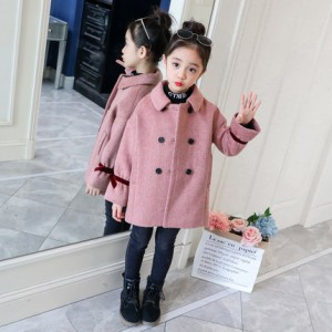 Шерстяное пальто на подкладке арт.КД051,цвет: Розовый