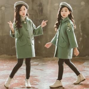 Шерстяное пальто на подкладке арт.КД051,цвет: Зеленый