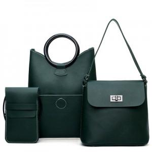 Набор сумок из 3 предметов арт.А590,цвет: Зеленый