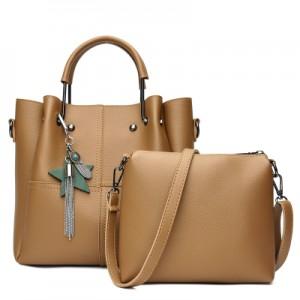 Набор сумок из 2 предметов арт.А591,цвет: Коричневый