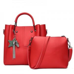 Набор сумок из 2 предметов арт.А591,цвет: Красный