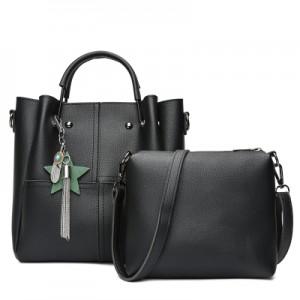 Набор сумок из 2 предметов арт.А591,цвет: Черный