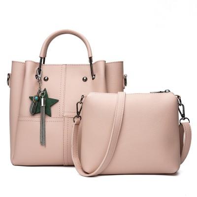 Набор сумок из 2 предметов арт.А591,цвет: Розовый