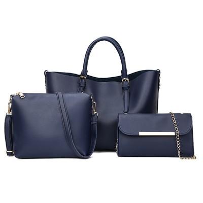 Набор сумок из 3 предметов арт.А592,цвет: Синий