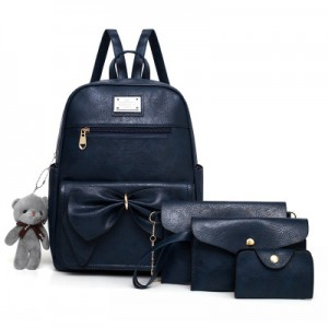 Рюкзак набор из 4 предметов арт.Р396,цвет: Синий