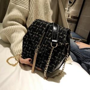Женская сумка арт.Б655,цвет: Черный